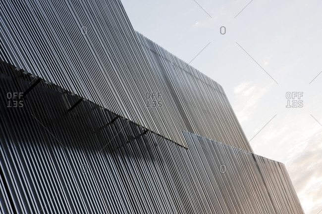 Modern building in Stockholm, Sweden