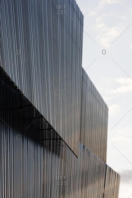 Exterior of a building in Stockholm, Sweden