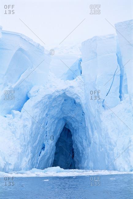 Iceberg in the Antarctica
