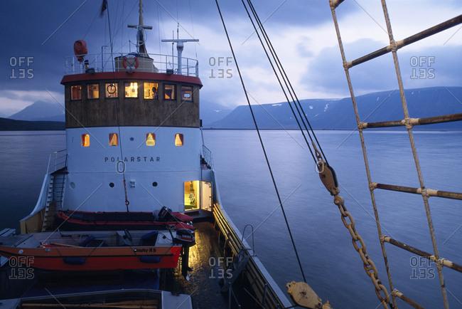 Shipping in Svalbard, Sweden