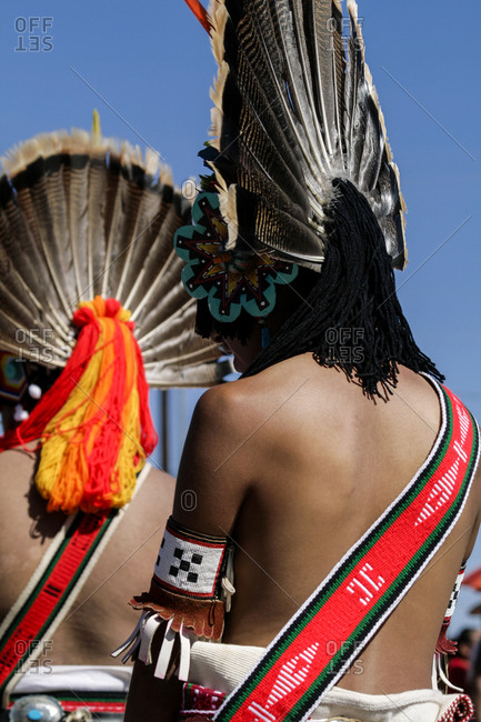 Native American dancers in Gallup, New Mexico