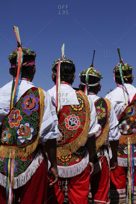 Danza de Los Voladores from Patalan, Veracruz, Mexico performed in Santa Fe