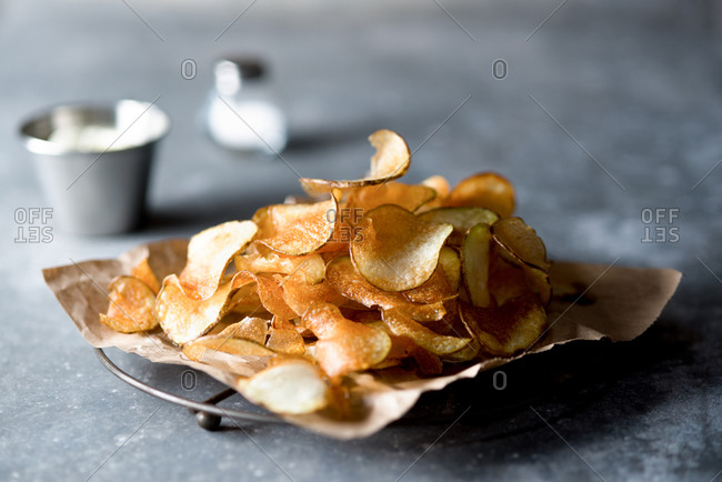 Homemade fries or chips