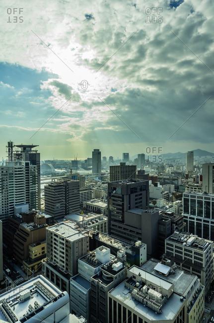 Cityscape, Kobe, Japan