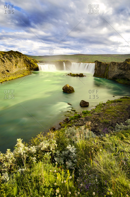 Iceland waterfall from the Offset Collection