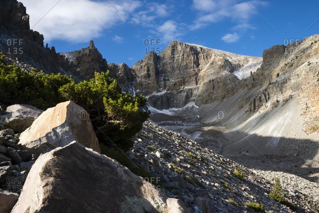 Wheeler Peak in Great Basin National Park in Nevada
