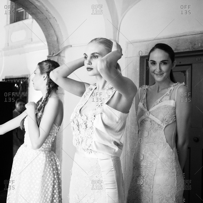 Sibiu, Transylvania, Romania - September 5, 2014: Models lined up ready to go