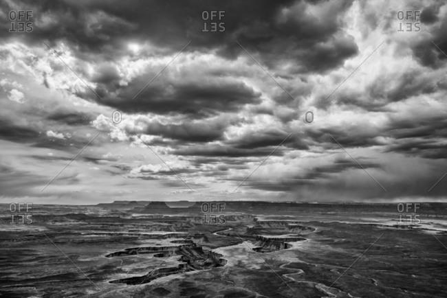 Thunderstorm over the White Rim