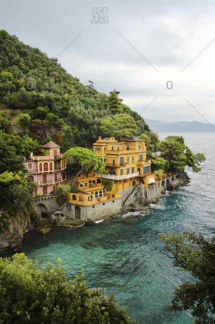 A seaside villa in Italy