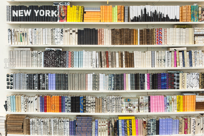 Coordinated bookshelf