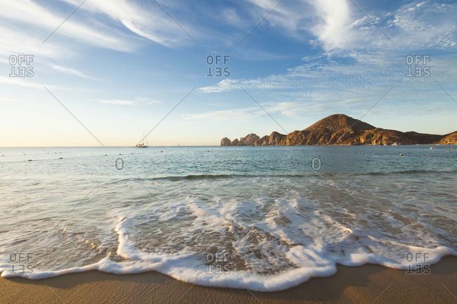 Medano beach in the evening, Baja California Sur, Mexico