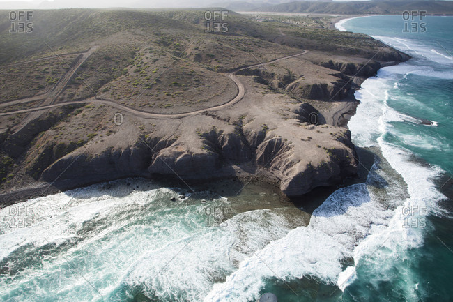 Cliffs on a Mexican coast