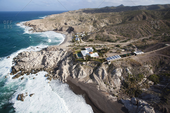Landscape of a Mexican coast