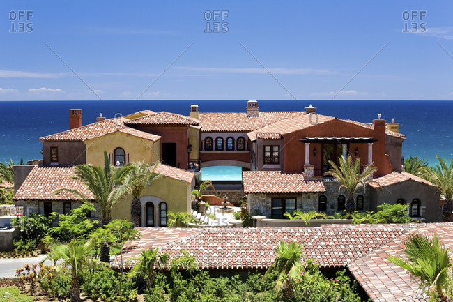 Residence on a Mexican coast