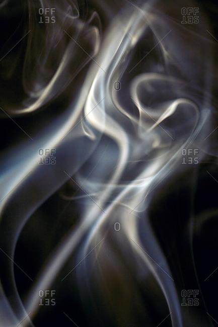 A wisp of smoke - Offset