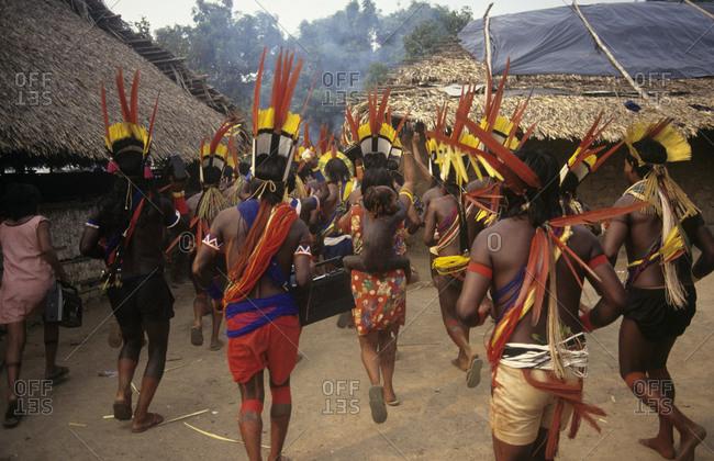 Indigenous people celebration