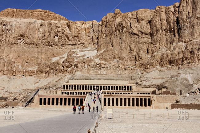 Mortuary Temple of Queen Hatshepsut in Egypt