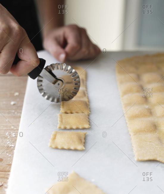 Cutting Raviolis