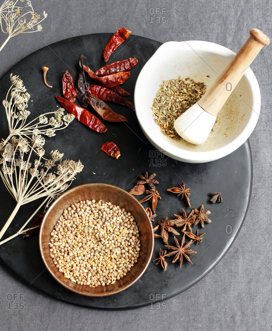 Ground Moroccan Spices