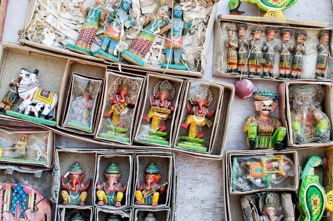 Traditional Indian figurines