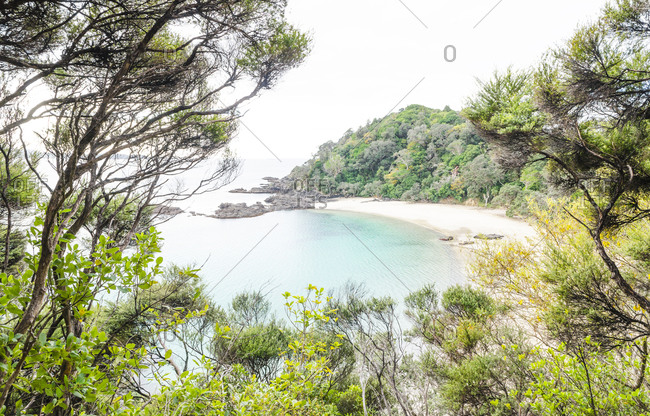 A secluded cove