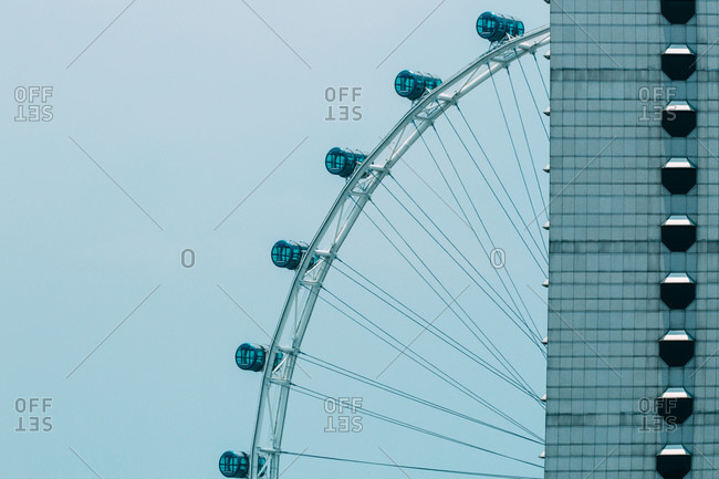 View of the Singapore Flyer