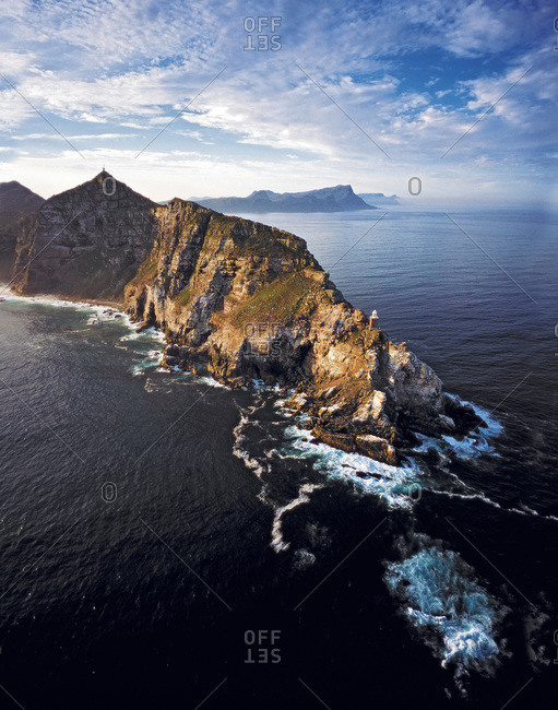 Cape Point at Cape Peninsula in Western Cape, South Africa