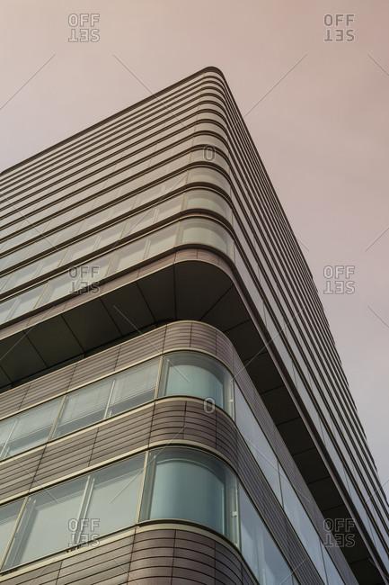 Germany, Hamburg - February 10, 2014: Office building