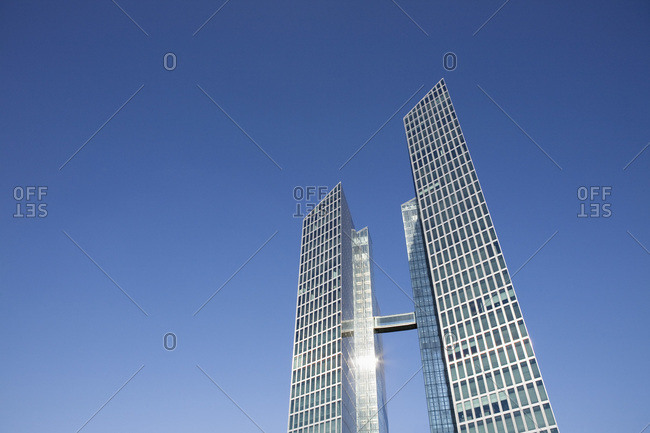 Munich, Germany - February 16, 2007: The Highlight Towers
