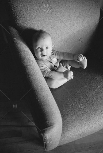 Portrait of Baby in Chair