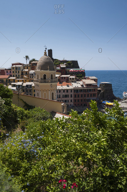 Overview of Vernazza, Cinque Terre