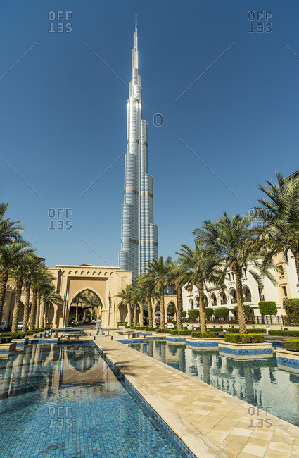 Dubai, United Arab Emirates - December 4, 2013: Burj Khalifa