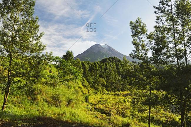 Mount Merapi, Java, Indonesia