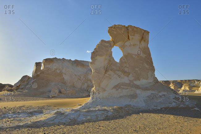 Rock formations in White Desert, Sahara Desert