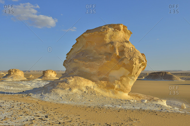 Rock formation in White Desert, Sahara Desert