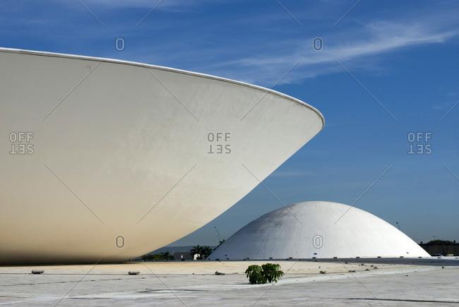 Brasilia, Brazil - March 3, 2006: The Brazilian National Congress in the Three Powers Plaza