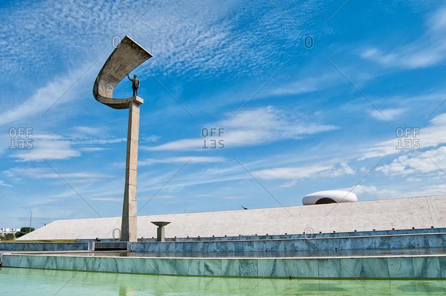 Brasilia , Brazil - June 23, 2013: Juscelino Kubitschek Memorial in Brazil