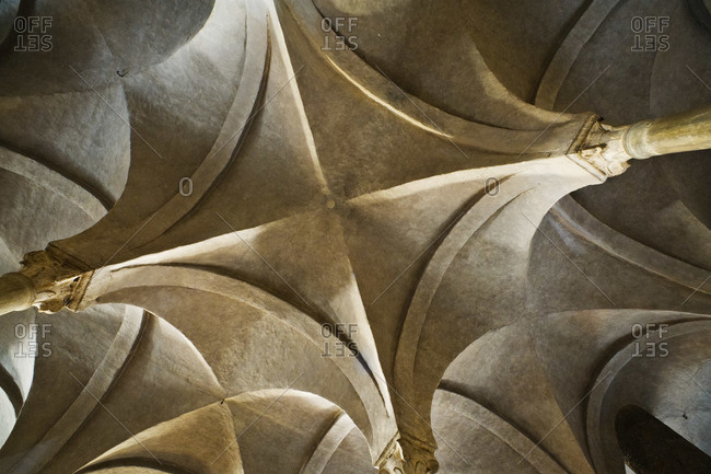 Ceiling in the San Miniato al Monte, Florence, Italy