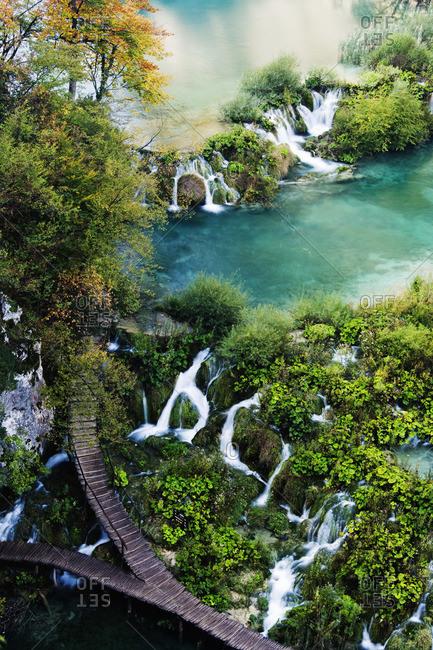 Lower Falls, Plitvice Lakes National Park, Croatia