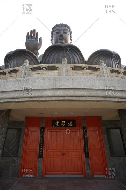 Tian Tan Buddha, Po Lin Monastery Ngong Ping, Lantau Island, Hong Kong, China