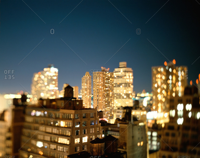 The west side of Manhattan