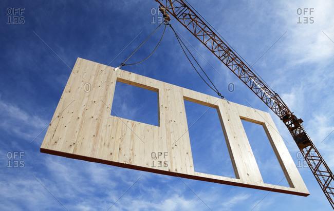 Lifting Framing components