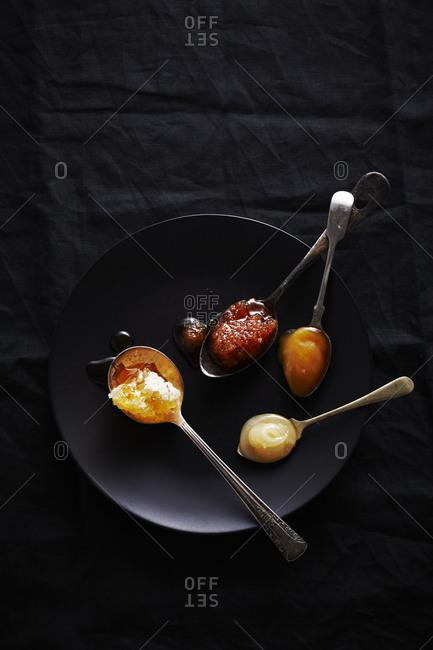 Spoons of honey