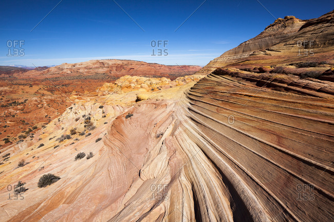 The Wave formation in Utah's Coyote Butte
