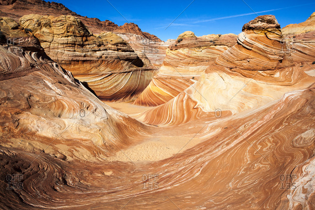 The Wave formation in Utah's Colorado Plateau