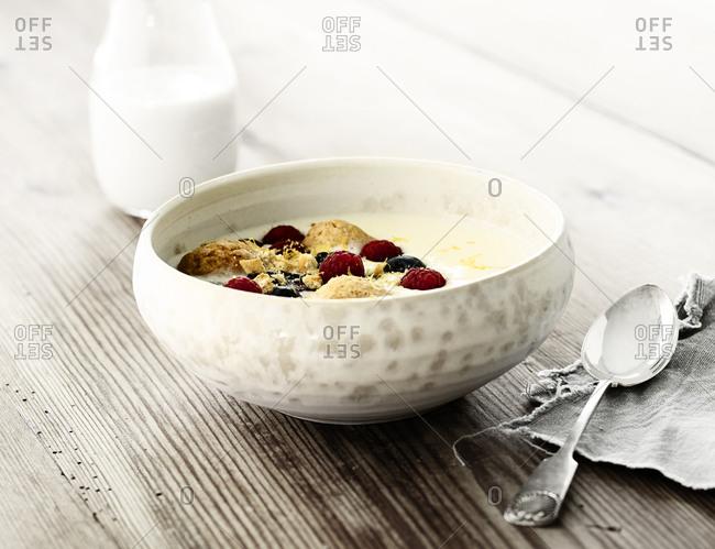 Cold buttermilk soup