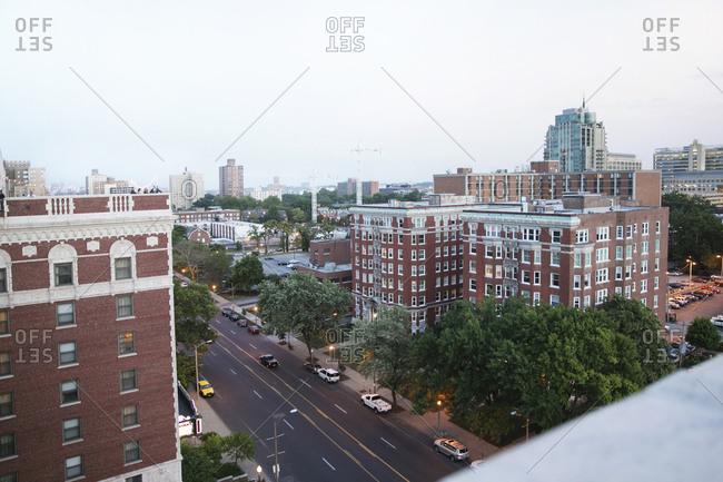Brick buildings in St. Louis, Missouri