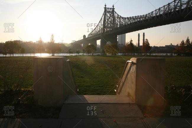 The Queensboro Bridge in New York City, USA
