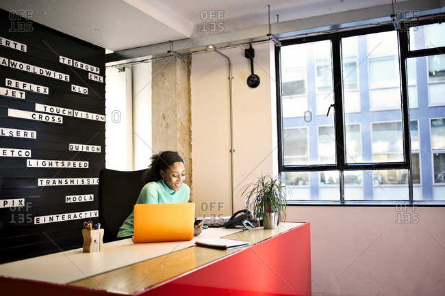 Receptionist of a startup company