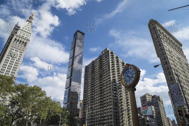 Skyscrapers in the Flatiron District, Manhattan, New York City